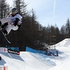 Pia Meusburger (AUT) competes in a halfpipe World Cup event in Bardonecchia, Italy © FIS/Oliver Kraus