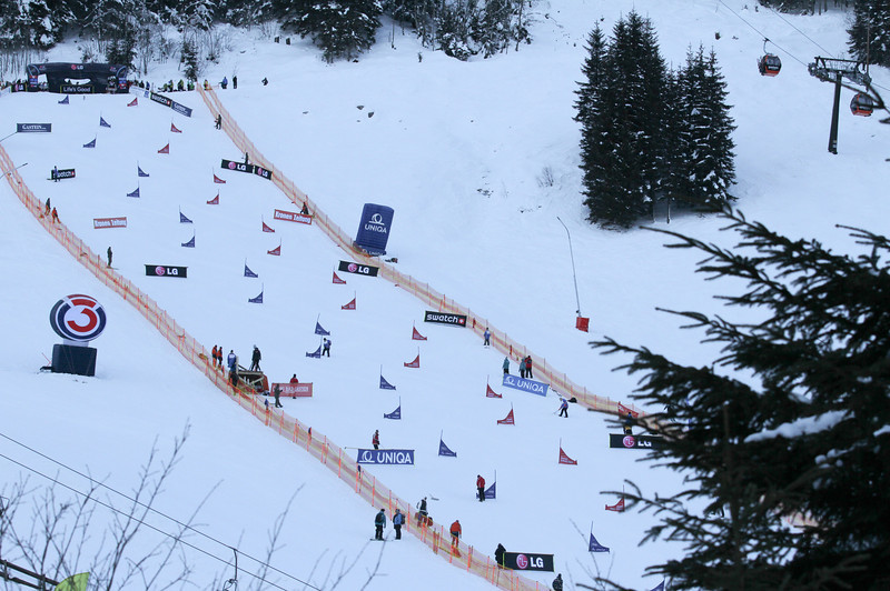 PSL World Cup Bad Gastein - Qualifiers - Race Slope © FIS/Oliver Kraus