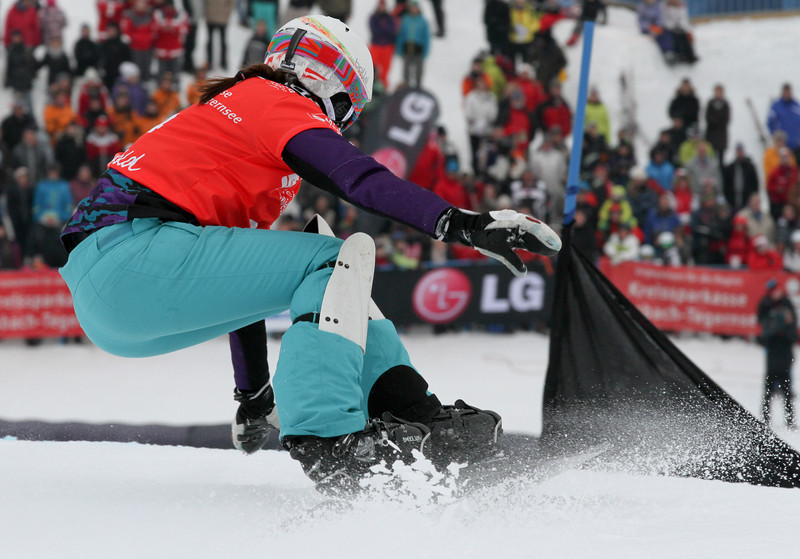 PGS World Cup Sudelfeld - Finals - Julia Dujmovits (AUT) © FIS/Oliver Kraus