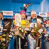 PSL World Cup Bad Gastein - Finals - Women's Podium PSL 1 - f.l.t.r.: 2nd Marion Kreiner (AUT), 1st Amelie Kober (GER), 3rd Claudia Riegler (AUT), 4th Natalia Soboleva (RUS) © Max Steinbauer Fotografie
