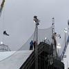 FIS Snowboard World Cup Big Air Antwerp Qualifier Heat 1 - Jonas Pohjonen (FIN) © FIS/Oliver Kraus