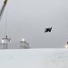 FIS Snowboard World Cup Big Air Antwerp Qualifier Heat 1 - Adrian Krainer (AUT) © FIS/Oliver Kraus