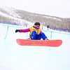 Alexandra Fitch (AUS)<br /> Halfpipe qualifications<br /> 2013 Sprint U.S. Snowboarding Grand Prix in Park City, Utah<br /> Photo: Sarah Brunson/U.S. Snowboarding