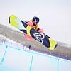 Emma Bernard (FRA)<br /> Halfpipe qualifications<br /> 2013 Sprint U.S. Snowboarding Grand Prix in Park City, Utah<br /> Photo: Sarah Brunson/U.S. Snowboarding