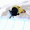 Elena Hight (USA)<br /> Halfpipe qualifications<br /> 2013 Sprint U.S. Snowboarding Grand Prix in Park City, Utah<br /> Photo: Sarah Brunson/U.S. Snowboarding