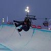 Emma Bernard (FRA) competes in the Halfpipe World Cup at Ruka, Finland <br /> <br /> @ FIS