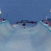 The halfpipe at the Halfpipe World Cup at Ruka, Finland <br /> <br /> @ FIS