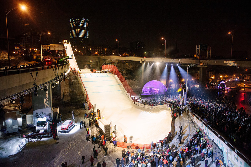 FIS Snowboard World Cup -Quebec City - BA - Jan 17, 2014<br /> <br /> © Renaud Philippe