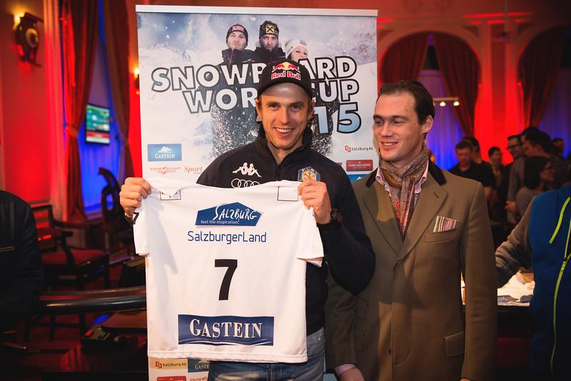 FIS Snowboard World Cup - Bad Gastein AUT - PSL - FISCHNALLER Roland ITA © Miha Matavz