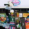 FIS Snowboard World Cup - Sudelfeld GER  - Parallel Giant Slalom - PGS  - 2nd ZOGG Julie SUI, 1st LEDECKA Ester CZE and 3rd KREINER Marion AUT © Miha Matavz