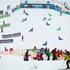 FIS Snowboard World Cup - Sudelfeld GER  - Parallel Giant Slalom - PGS  - Kreiner Marion AUT and Patrizia Kummer SUI © Miha Matavz
