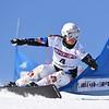 Claudia Riegler (AUT) competes in PGS World Cup race Asahikawa, Japan © Atsushi Tomura