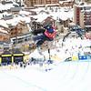 2014 Sprint U.S. Snowboarding Grand Prix at Copper Mountain, CO.<br /> Rider: Nathan Jacobson (USA)<br /> Snowboard halfpipe qualifications<br /> Photo: Sarah Brunson/U.S. Snowboarding