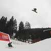 Lucien Koch (SUI) competes at Slopestyle World Cup Audi Snowjam at Spindleruv Mlyn  - © Josef Áulc