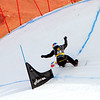 Alex Pullin (AUS) competes at FIS SBX World Cup La Molina qualifiers