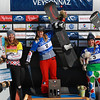 FIS SNOWBOARD WORLD CUP 2017 WOMEN<br /> Podium<br /> 1 2 9195128 BANKES Charlotte FRA<br /> 2 1 1159964 SAMKOVA Eva CZE<br /> 3 3 9295086 MOIOLI Michela ITA