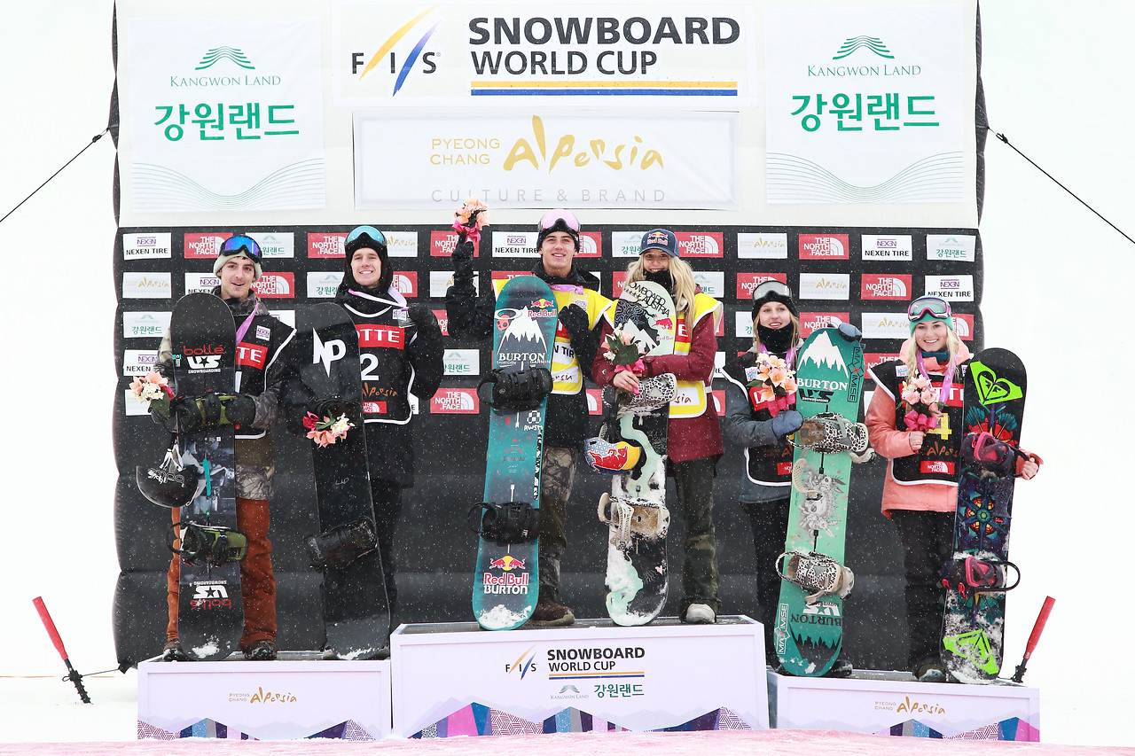 gasser wins big air Top 6 athletes of the Alpensia Big Air World Cup
