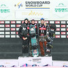 Men's Podium Alpensia Big Air World Cup