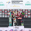 Women's Podium Alpensia Big Air World Cup