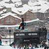 Chloe Kim (USA) competes at Copper Mtn halfpipe WC finals