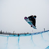 Hannah Teter (USA) competes at Copper Mtn halfpipe WC finals