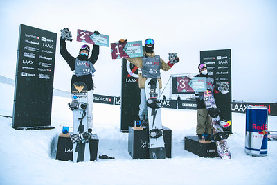 Men's podium L-R - Leon Vockensperger (GER), Niklas Mattsson (SWE), Marcus Kleveland (NOR)