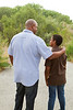 UN14.21 / to replace the photo of the African-American father and son walking and talking / Choice 7 of 13