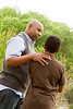 UN14.21 / to replace the photo of the African-American father and son walking and talking / Choice 6 of 13