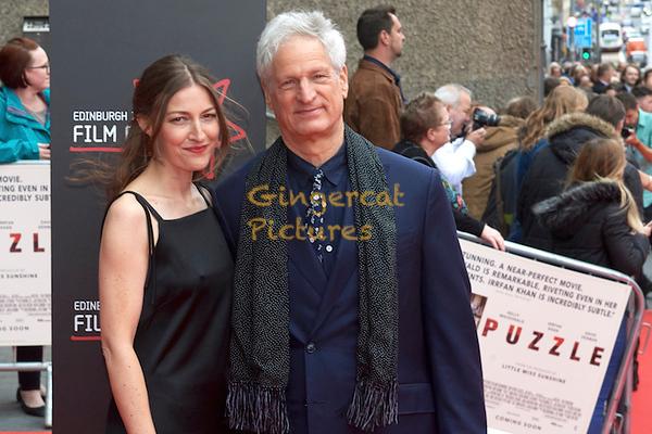 "EIF ""Puzzle"" Opening Night Gala,Director, Marc Turtletaub, and actress, Kelly Macdonald"