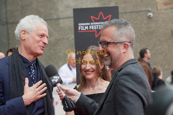 "EIF ""Puzzle"" Opening Night Gala, Director, Marc Turtletaub, and actress, Kelly Macdonald"