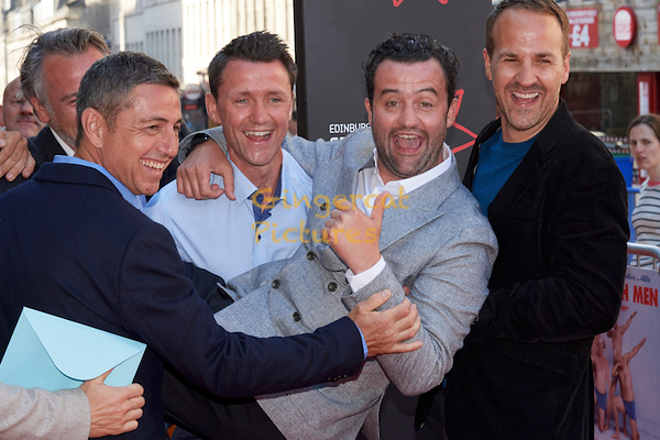 """EIFF UK Premiere, """"Swimming with Men"""" stags and Daniel Mays"""