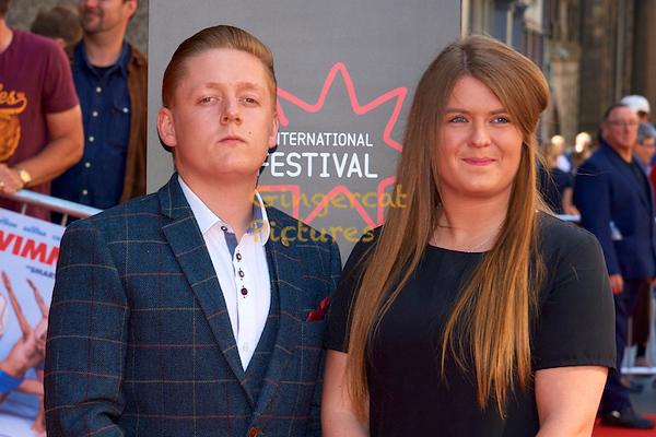 "EIFF UK Premiere, ""Swimming with Men"" Thomas Turgoose"