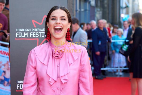 "EIFF UK Premiere, ""Swimming with Men"" Charlotte Riley"
