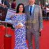 "EIFF UK Premiere, ""Swimming with Men"" Fiona Ufton, Jason Connery"
