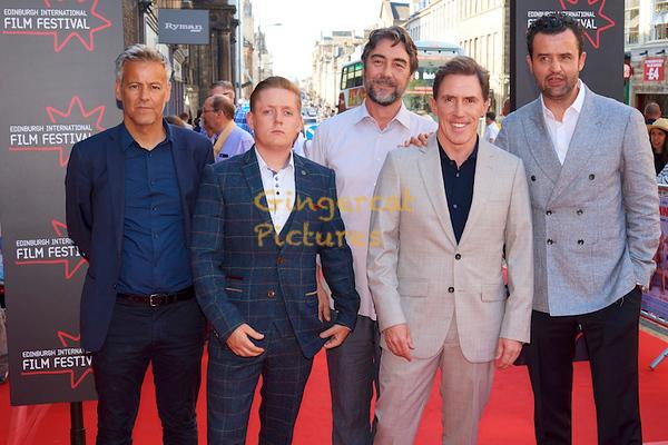 "EIFF UK Premiere, ""Swimming with Men"" EIFF UK Premiere, ""Swimming with Men"" Rupert Graves, Thomas Turgoose, Nathaniel Parker, Rob Brydon,  Daniel Mays"