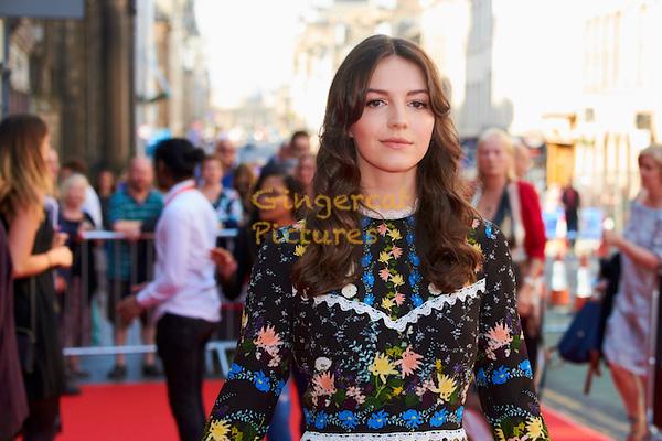 "EIFF UK Premiere, ""Swimming with Men"" Ella Hunt."