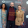 Shorts Jurors Miriam Bale Alejandro Diaz Castano and Sophie Skelton