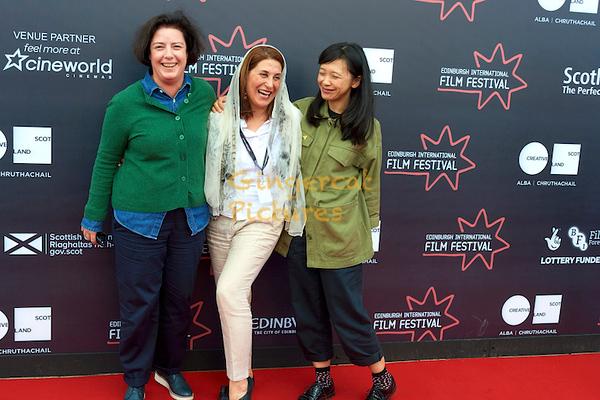 Grainne Humphreys, Simin Motamed-Arya and Yung Kha (International Jury)
