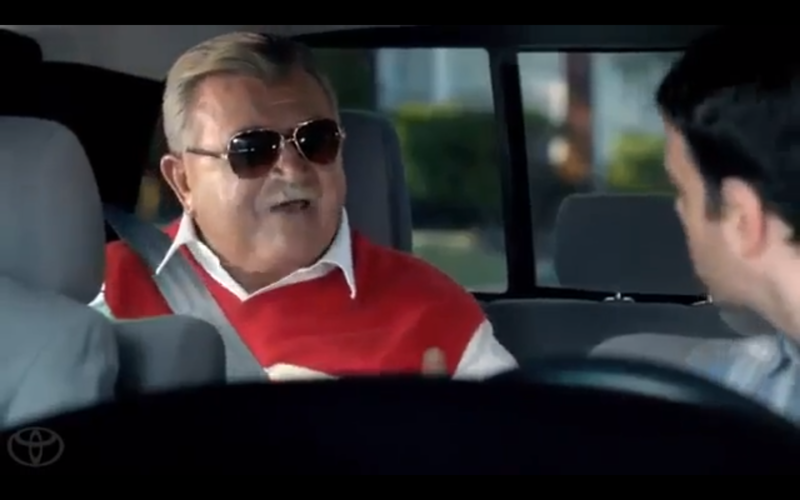 Toyota with Mike Ditka