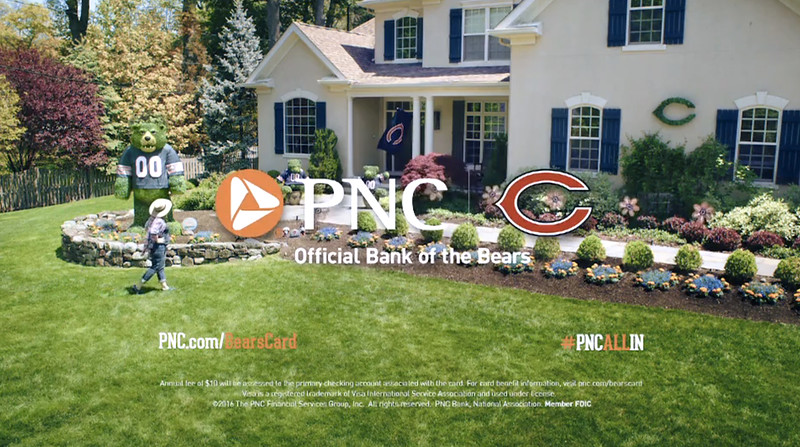"PNC Bears Visa ""Green Envy"" (2016)"