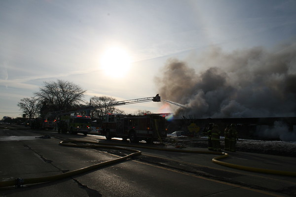 Elk Grove Township 2nd Alarm Commercial Structure Fire 2550 W. Oakton 03/01/2008