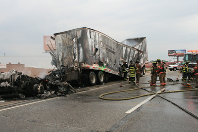 Truck Fire 294 Today