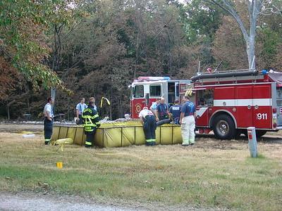 Woodstock Fire Department Live Fire Training