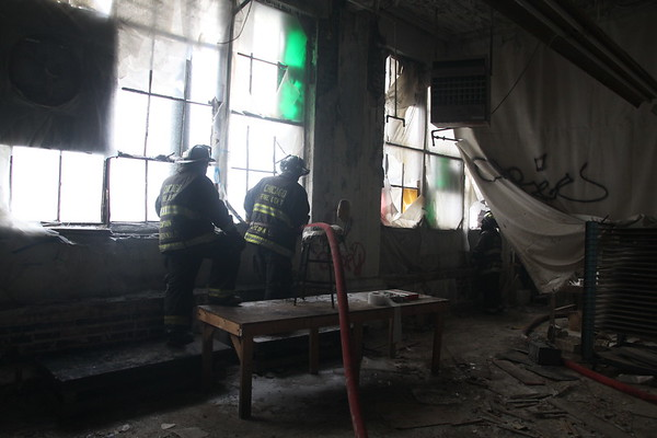 Chicago Fire Department 5-11 Ruins Day 3 Demo Day