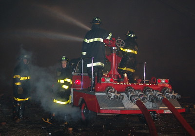 CFD 5-11 Alarm Church Fire 33rd & Indiana
