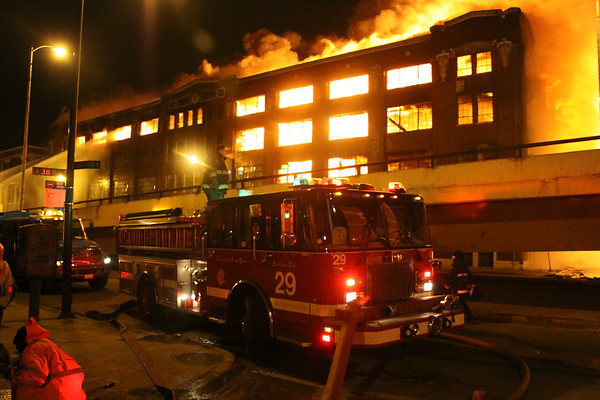 Chicago Fire Department 5-11 Alarm Fire And 2 Specials 37th & Ashland Ruins
