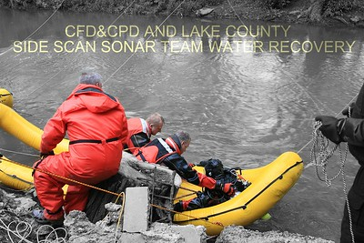 CFD AND LAKE COUNTY SIDE SCAN SONAR TEAM SPEACIAL DUTY