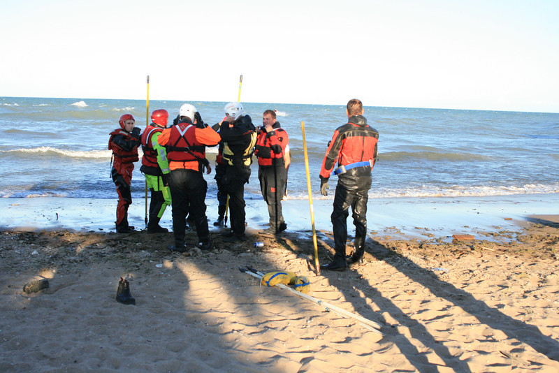 Wilmette Fire Department Dive Box Gilson Beach 1 Person