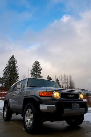 FJ in the snow