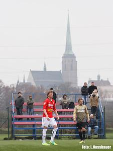 Pod plzeňskou věží se dnes utkaly rezervy prvoligových týmů Viktorky a Liberce.